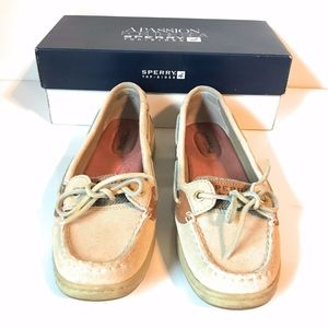Sperry Top-Sider Angelfish Sparkle Linen Boat Shoe